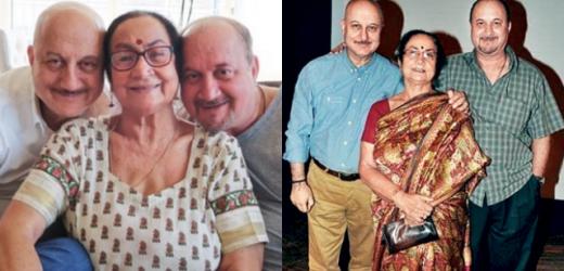 बच्चन परिवार के बाद अब अनुपम खेर के घर में माँ समेत यह 4 लोग हुए कोरोना संक्रमित
