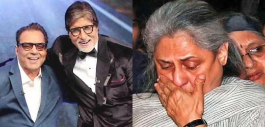 अमिताभ बच्चन के कोरोना संक्रमित होने के बाद अब धर्मेंद्र ने जाया बच्चन को कही यह बड़ी बात